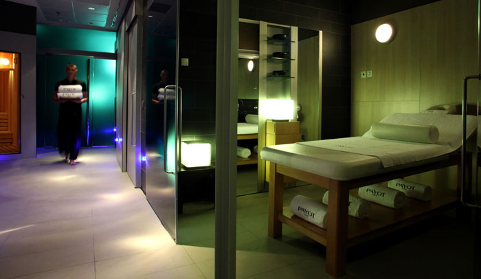 Spa del hotel Pullman Barcelona Skipper