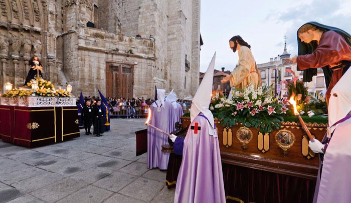 Procesión del prendimiento de Palencia