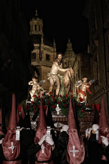Procesión de la Hermandad de Nuestro Padre Jesús Flagelado. Semana Santa de Salamanca