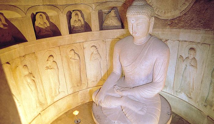 Buda de la Gruta de Seokguram