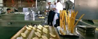 Cocina Hotel Logis Empordà