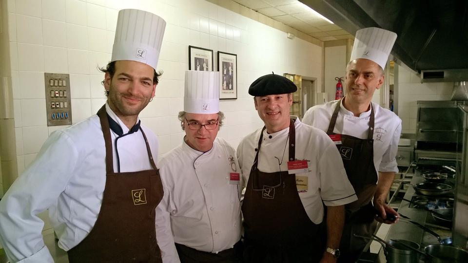 Los cuatro chefs protagonistas de la gastronomía de Midi-Pyrénées en el Hotel Logis Empordà