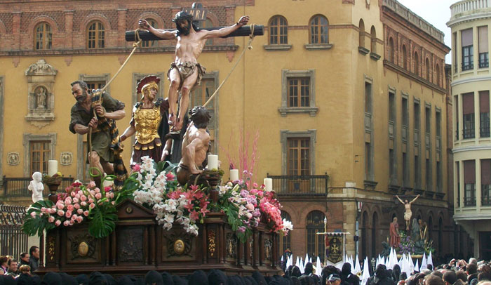 Procesión de los pasos en León