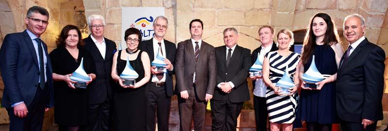 Premiados en los Malta Tourism Press Awards 2014