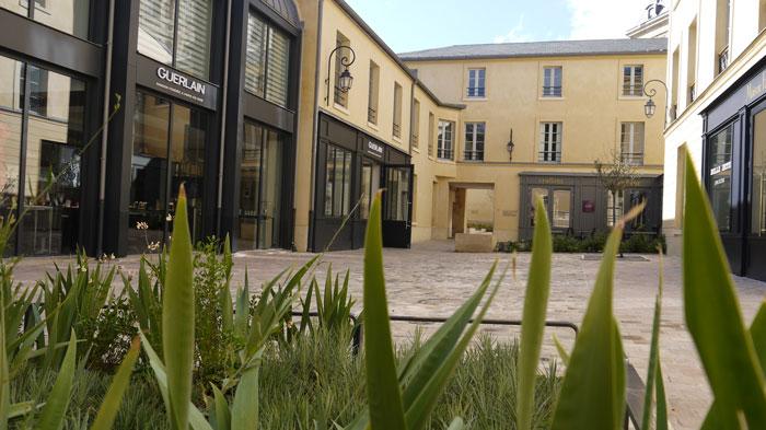 Cour des Senteurs © OT de Versailles