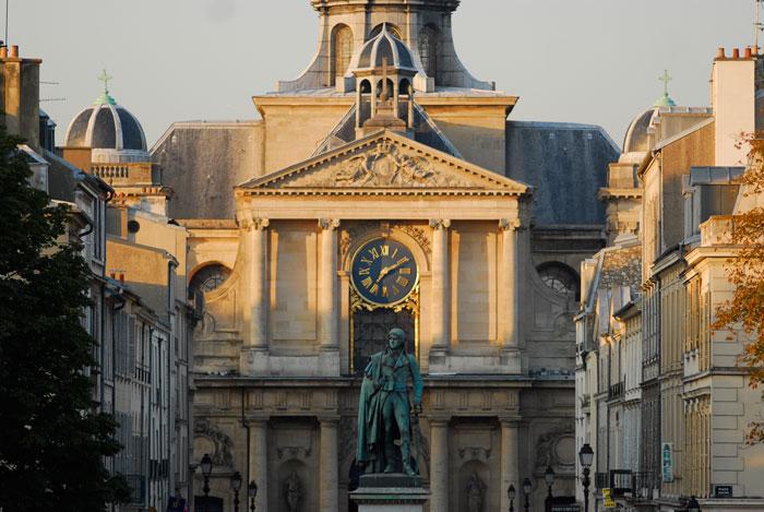 Iglesia de Notre-Dame en el barrio del mismo nombre © Mairie de Versailles
