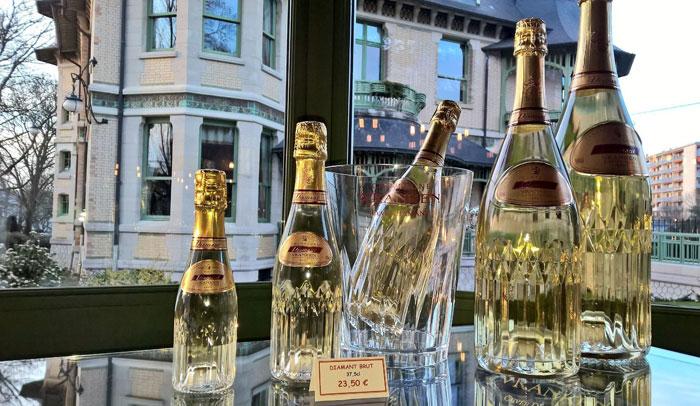 El champán está en el ADN de los habitantes de Reims