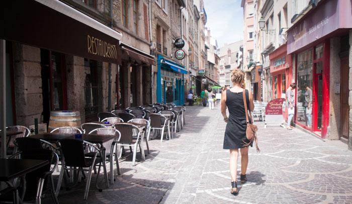 Calles de Saint-Etienne © Magali STORA