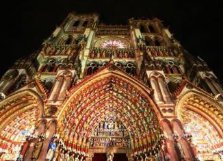 """Espectáculo """"Amiens, la catedral en colores"""" ® OT Amiens"""
