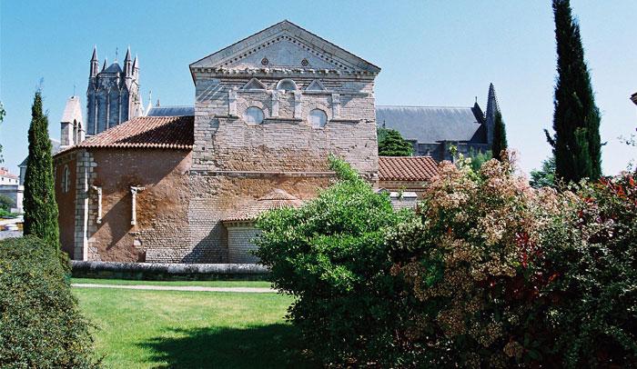 Baptisterio de Saint Jean ® OT Poitiers