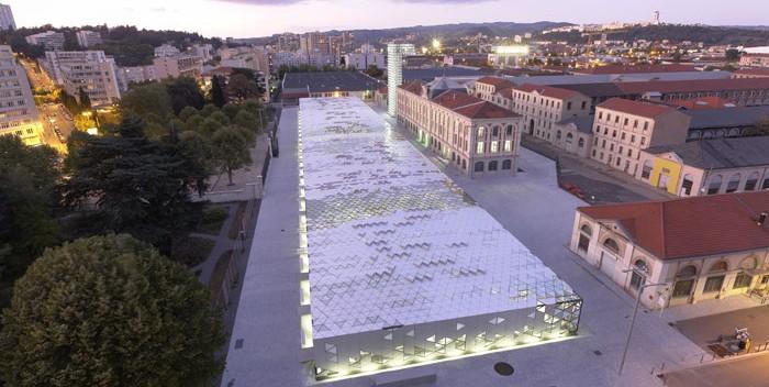 Ciudad del Diseño. Cité-du-Design-©Agence LIN. Arquitectos Finn Geipel y Giulia An