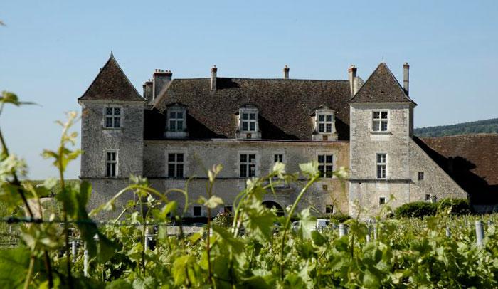 Château du Clos de Vougeot © Atelier Desmoulin