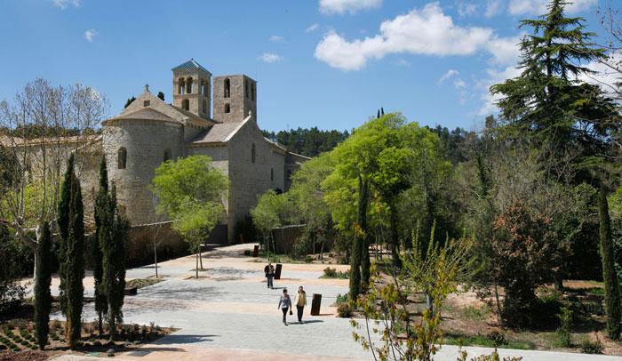 Monasterio de Sant Benet, en Sant Fruitós de Bages.