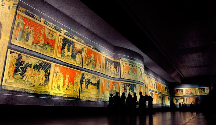 Tapiz del Apocalipsis en el Castillo de Angers © Bozzardi.