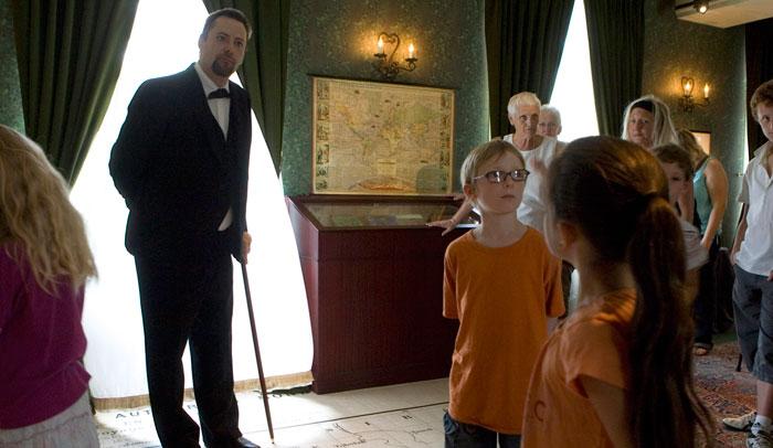 Visita guiada en la casa de Julio Verne ® OT Amiens