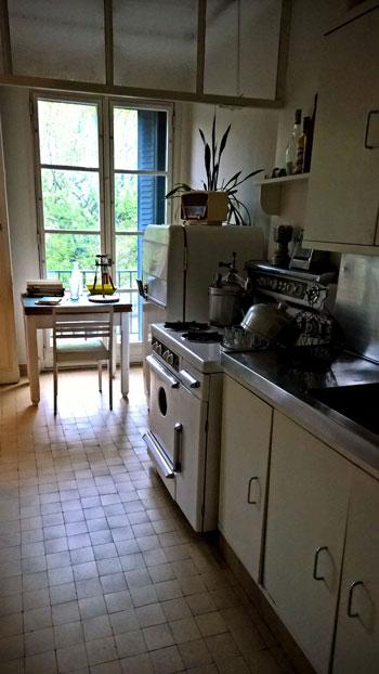 Cocina del apartamento Témoin Perret