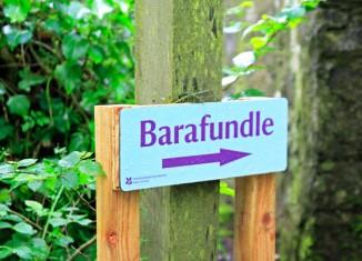Playa de Barafundle, en Gales