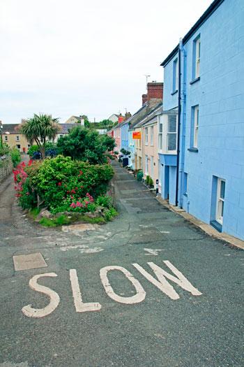 Calle Saint David, en Gales