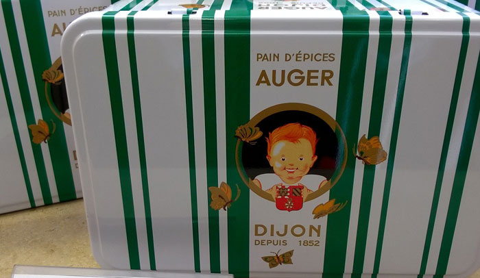 El pain d'épices es una especialidad de Dijon.