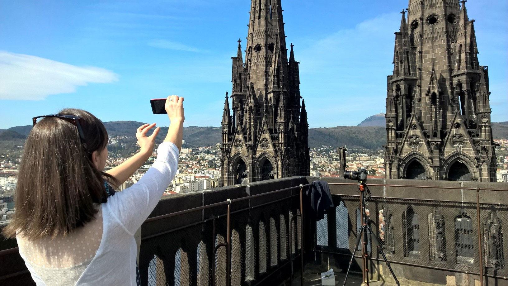 Torres de la Catedral de Clermont Ferrand