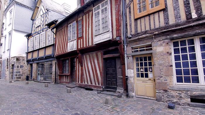 Casas medievales de Rennes
