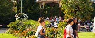 Parque Thabor ®Destination Rennes, Bruno Mazodier.