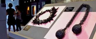 Joyas de la exposición Negro como el basalto