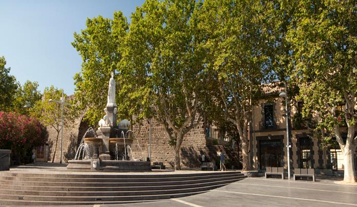 Plaza de la Bella Agathoise © O. Maynard.