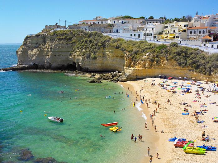 Playa de Carvoeiro © Ramos