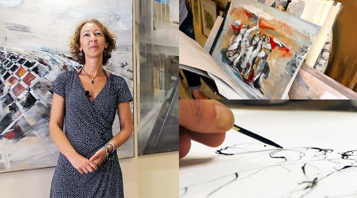Arancha Tejedor, artista plástica