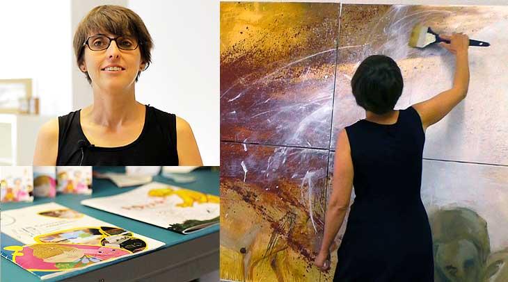 Carine Fourment-Hullo, artista plástica