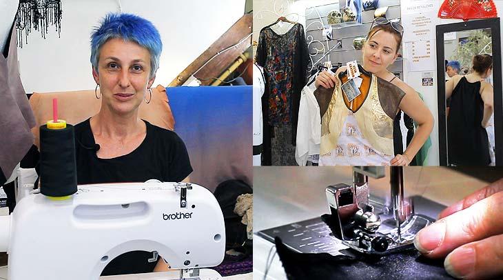 Ludmila Fralin, diseñadora de moda