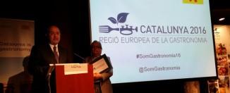 Catalunya, Región Europea de la Gastronomía 2016