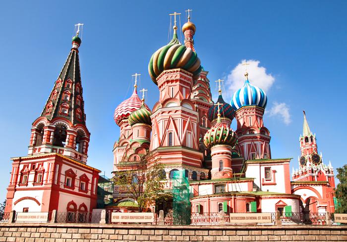 Catedral de San Basilio, en Moscú