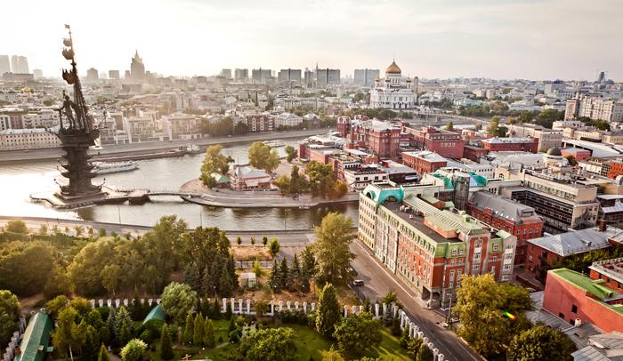 Panorámica de Moscú