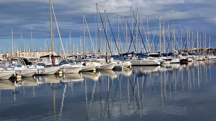 Puerto deportivo de Cap d'Agde