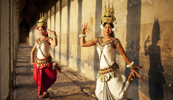 Baile tradicional camboyano