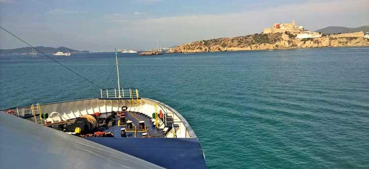 Llegada a Ibiza