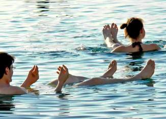 imagen Jordania, bañarse en el Mar…