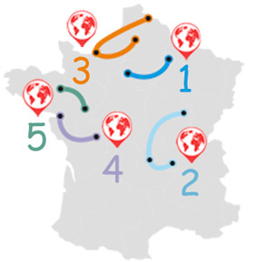 5 Rutas por Francia