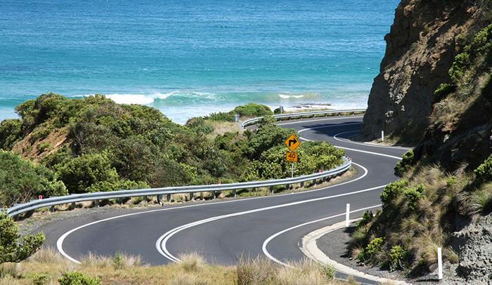 Great Ocean Road desde Los Doce Apóstoles a Apollo Bay (Australia)