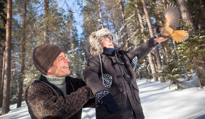 Los niños se lo pasan en grande en Finlandia © VisitFinland