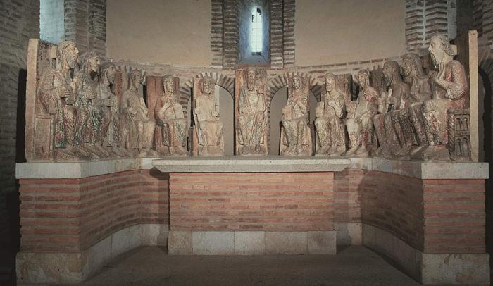 Apostolado, en la iglesia de San Juan de Alba de Tormes