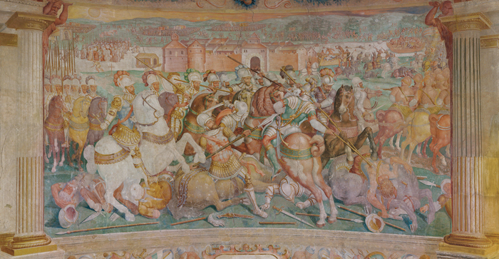 Pinturas murales de la batalla de Müllberg