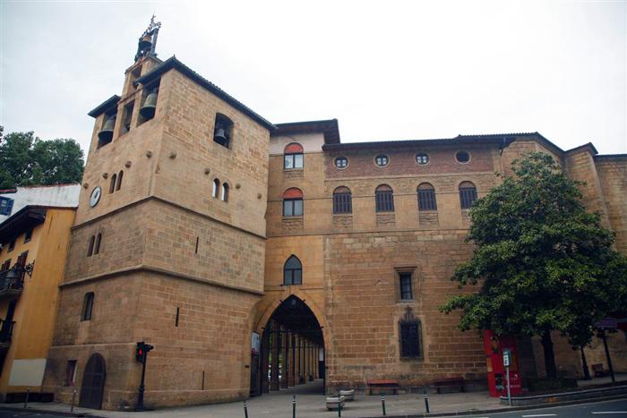 Conjunto arqueológico monumental de Santa María La Real. Foto: © F. Exteberria.