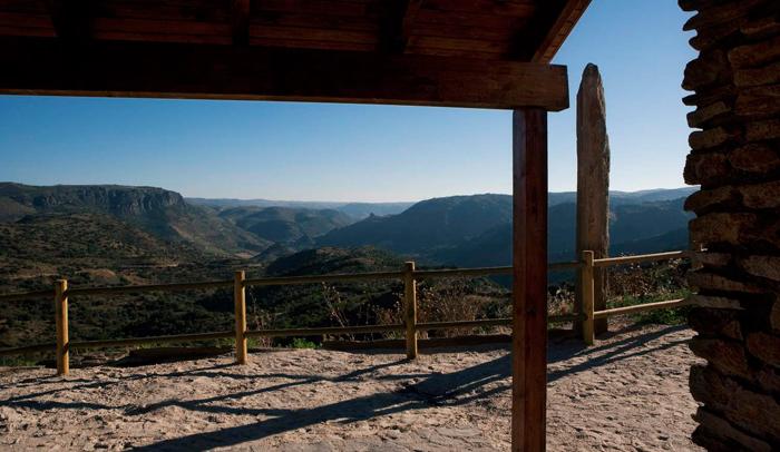 Mirador El Contrabando en Hinojosa del Duero © Santiago Santos