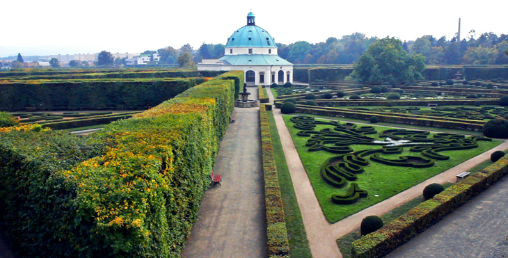Jardines Palacio Arzobispal Kroměříž