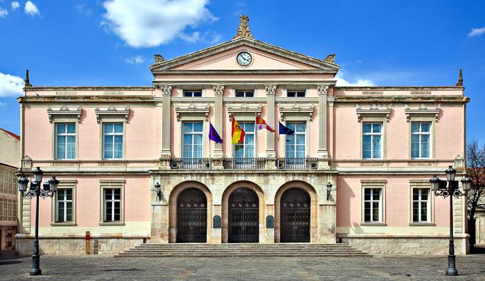 Ayuntamiento de Palencia en la Plaza Mayor © Ayuntamiento de Palencia
