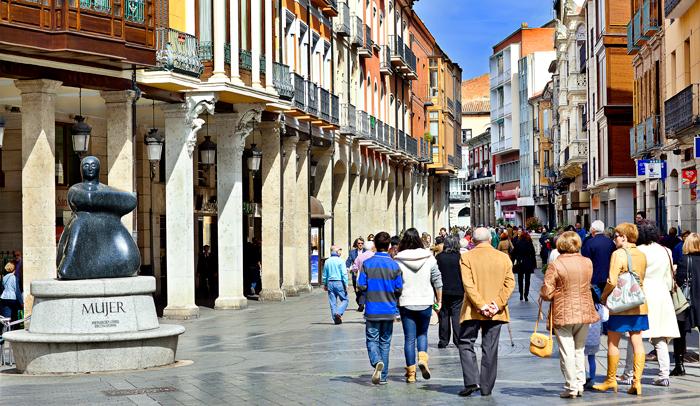 Calle Mayor de Palencia r@w Studio Fotografía