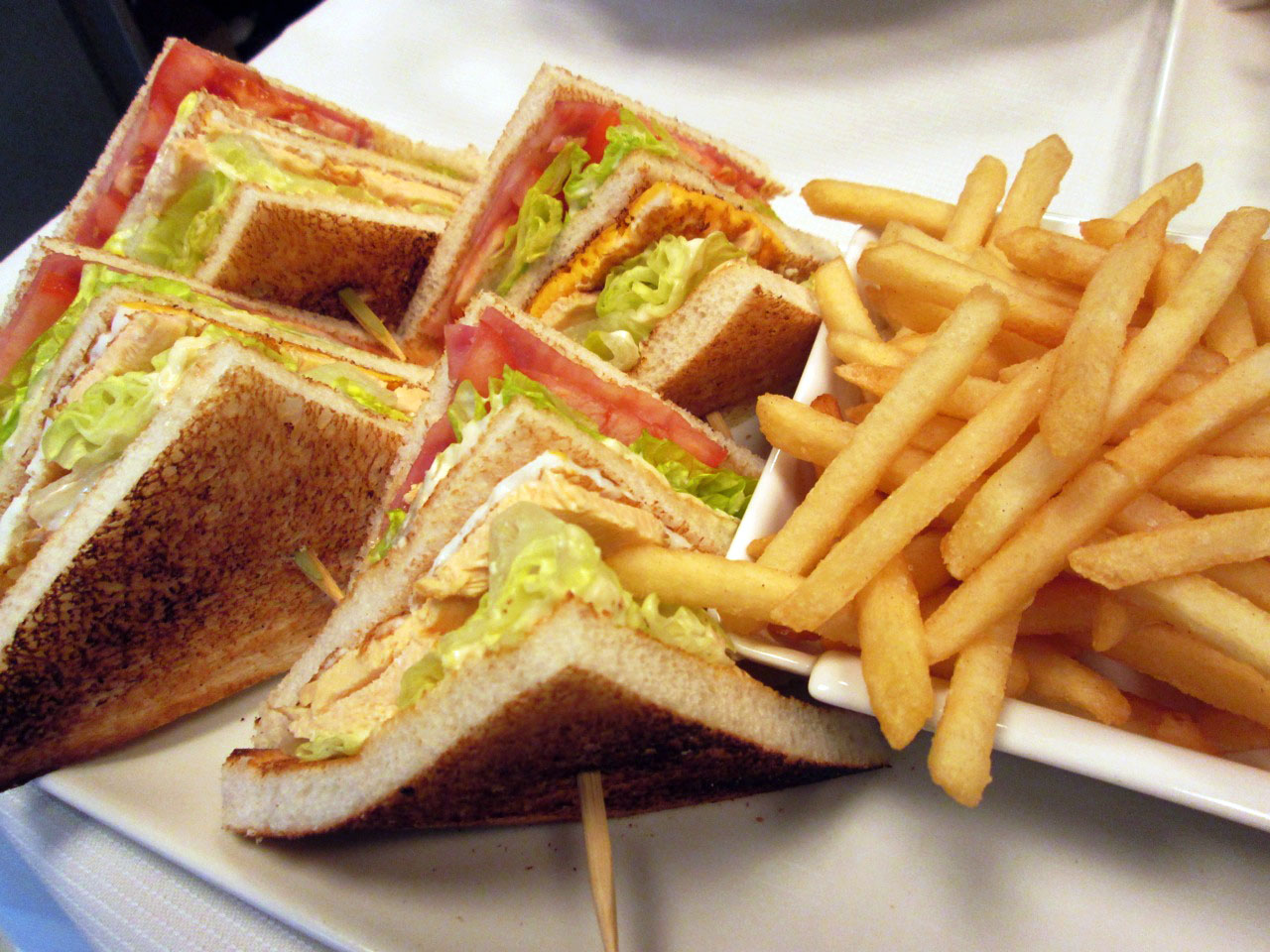 Club Sandwich, uno de los Hilton Classics